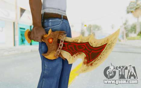 Blade of Athena for GTA San Andreas third screenshot