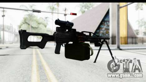 Kalashnikov PK (PKM) for GTA San Andreas third screenshot