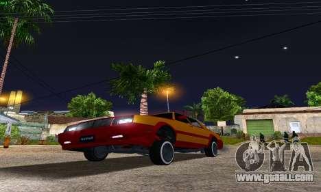New Tahoma from GTA 5 for GTA San Andreas back view
