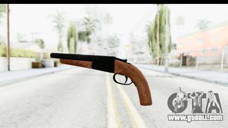 GTA 5 Double Barrel Sawn-Off for GTA San Andreas second screenshot