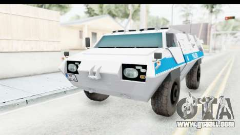 Hermelin TM170 Polizei for GTA San Andreas