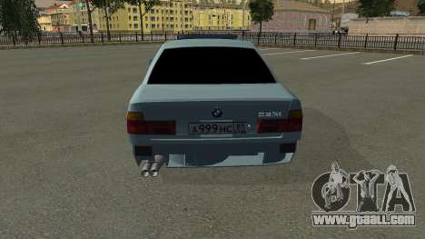 BMW 535i Gang for GTA San Andreas side view