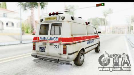 MGSV Phantom Pain Ambulance for GTA San Andreas right view