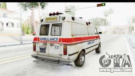 MGSV Phantom Pain Ambulance for GTA San Andreas right view
