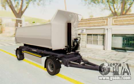 MAN TGA Energrom Edition Trailer v2 for GTA San Andreas