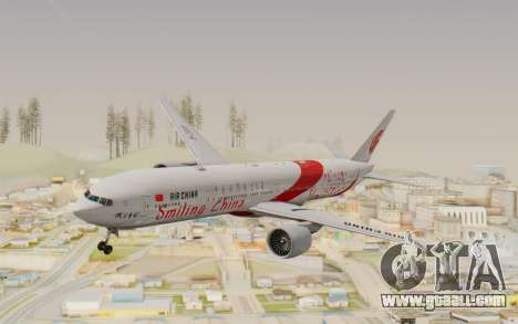 Boeing 777-300ER China Air for GTA San Andreas