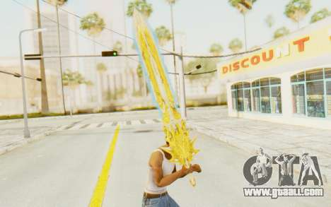 Blade of Olympus for GTA San Andreas third screenshot