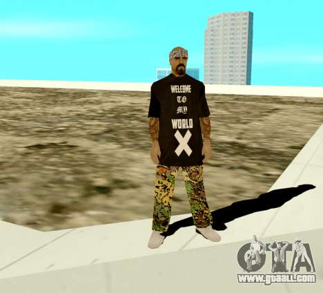 Varios Los Aztecas Skin for GTA San Andreas