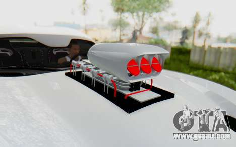 Dodge Viper SRT GTS 2012 Monster Truck for GTA San Andreas back view