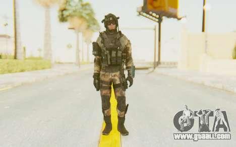 Federation Elite Assault Woodland-Flora for GTA San Andreas second screenshot