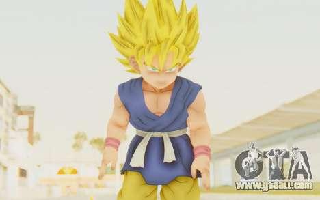 Dragon Ball Xenoverse Goku Kid GT SSJ for GTA San Andreas