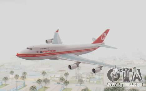 Boeing 747-200 Malaysia Airlines for GTA San Andreas
