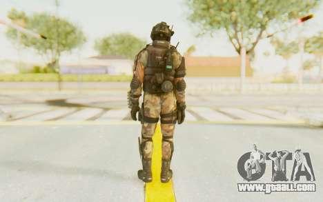 Federation Elite Shotgun Woodland-Flora for GTA San Andreas third screenshot