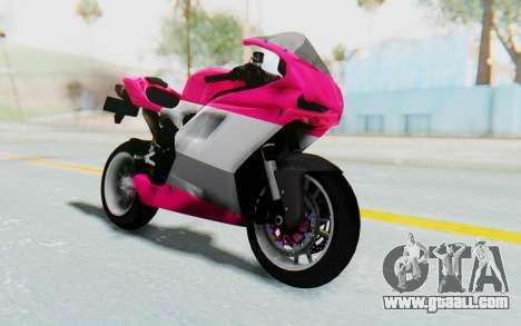 Ducati 1098R High Modification for GTA San Andreas