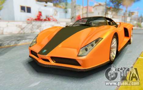 GTA 5 Grotti Cheetah IVF for GTA San Andreas back left view
