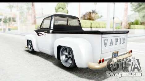 GTA 5 Vapid Slamvan Custom IVF for GTA San Andreas engine