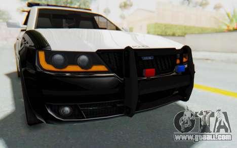 ASYM Desanne XT Pursuit v3 for GTA San Andreas upper view