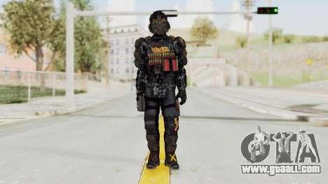 CoD Advanced Warfare KVA Heavy Soldier for GTA San Andreas second screenshot