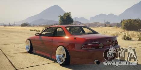 Lexus SC300 for GTA 5