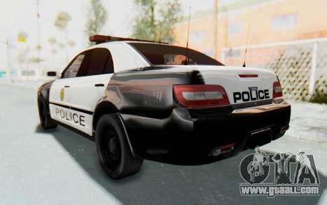 ASYM Desanne XT Pursuit v3 for GTA San Andreas back left view