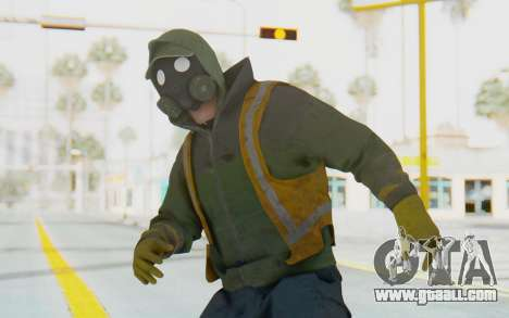 The Division Cleaners - Shield for GTA San Andreas