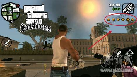 CLEO wanted for GTA San Andreas