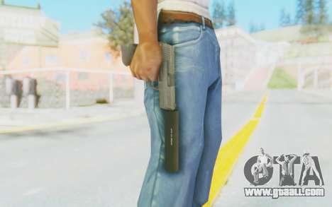 HK45 Silenced for GTA San Andreas