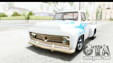 GTA 5 Vapid Slamvan Custom IVF for GTA San Andreas side view