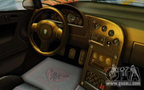 GTA 5 Grotti Cheetah IVF for GTA San Andreas side view