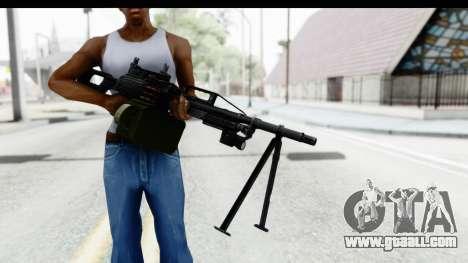 Kalashnikov PK (PKM) Iron Sights for GTA San Andreas