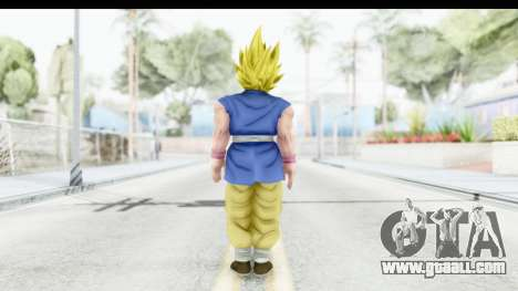Dragon Ball Xenoverse Goku GT Adult SSJ2 for GTA San Andreas third screenshot