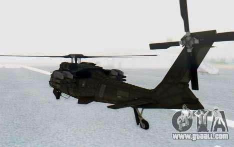 MGSV Phantom Pain UTH-66 Blackfoot for GTA San Andreas right view