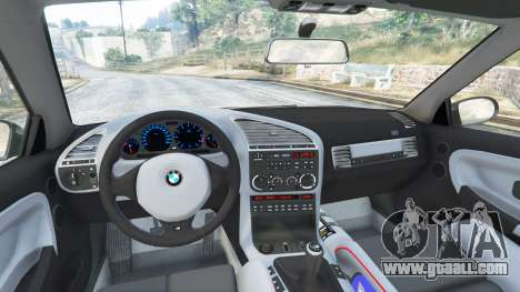 GTA 5 BMW M3 (E36) Street Custom right side view