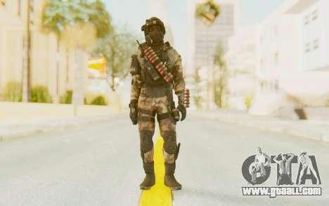 Federation Elite Shotgun Woodland-Flora for GTA San Andreas second screenshot