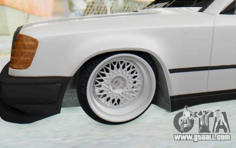 Mercedes-Benz W124 Stance Works for GTA San Andreas back view