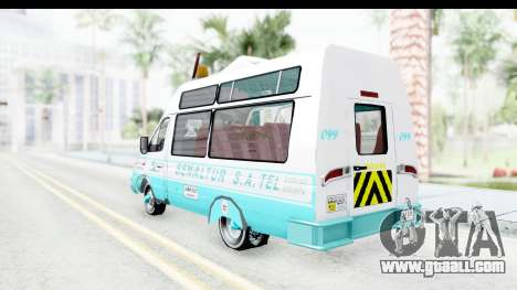 Iveco Turbo Daily for GTA San Andreas back left view