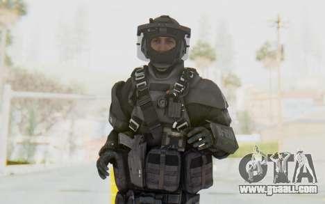 Federation Elite LMG Tactical for GTA San Andreas