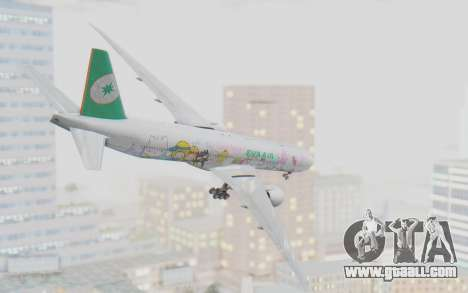 Boeing 777-300ER Eva Air v1 for GTA San Andreas right view