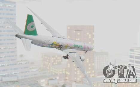 Boeing 777-300ER Eva Air v1 for GTA San Andreas right view