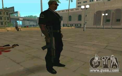 AKS-74U for GTA San Andreas forth screenshot
