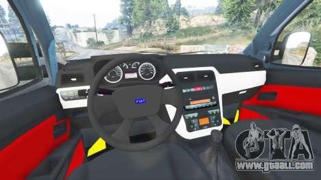 GTA 5 Fiat Doblo right side view