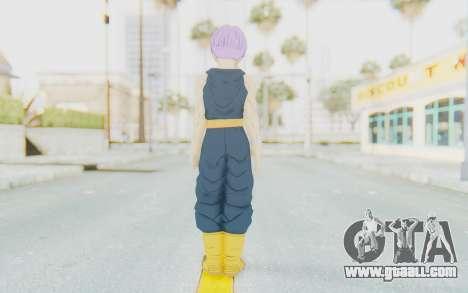 Dragon Ball Xenoverse Future Trunks Shirt for GTA San Andreas third screenshot