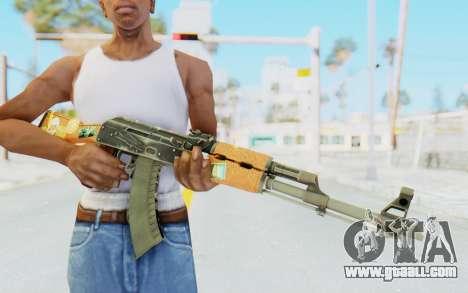 CS:GO - AK-47 Jetset for GTA San Andreas third screenshot