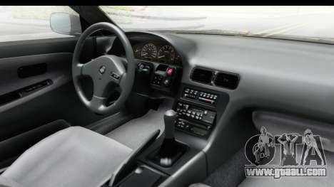 Nissan 240SX 1994 v1 for GTA San Andreas inner view