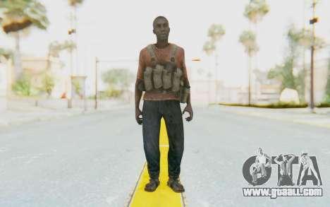CoD MW3 Africa Militia v3 for GTA San Andreas second screenshot