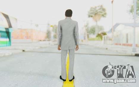 Mafia 2 - Vito Scaletta Madman Suit White for GTA San Andreas third screenshot