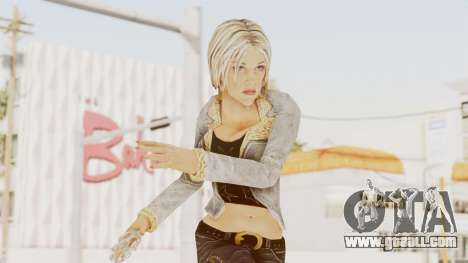 CrimeCraft - Russian Mafia Woman for GTA San Andreas