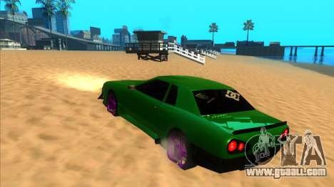 Elegy 1.3 by Mr.Phantom for GTA San Andreas back left view