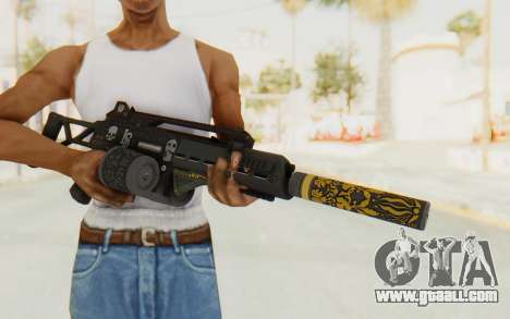 GTA 5 DLC Finance and Felony - Special Carbine for GTA San Andreas third screenshot