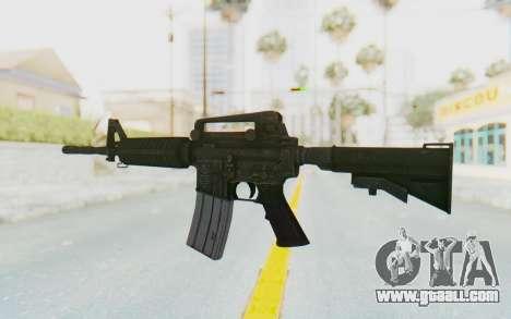 Assault M4A1 for GTA San Andreas second screenshot